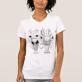 ザリガニ Tシャツ