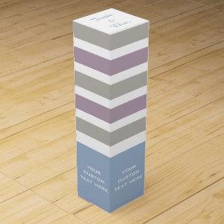 オリジナルデザインワインギフトボックス