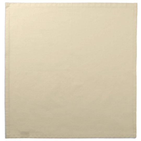 ナプキンのクリーム色ベージュ背景 ナプキンクロス