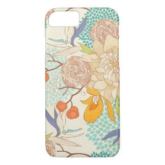 花柄iPhone 7 ケース