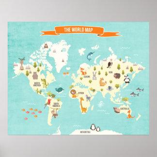 地図ポスター