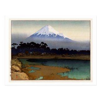 富士の富士十景朝日10の眺め、日の出、吉田
