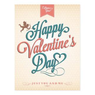 バレンタインポストカードコレクション。カラー、デザイン、スタイルなどでカスタマイズ!