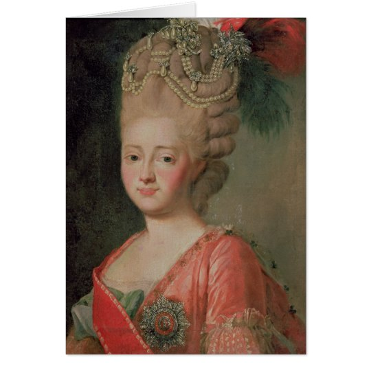 皇后マリアFyodorinaの1770年代のポートレート   Zazzle.co.jp