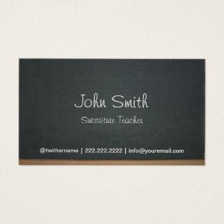 チョークボード/黒板風デザインの名刺