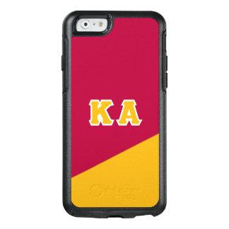 Κのアルファ順序 のギリシャ人の手紙 オッターボックスiPhone 6/6Sケース