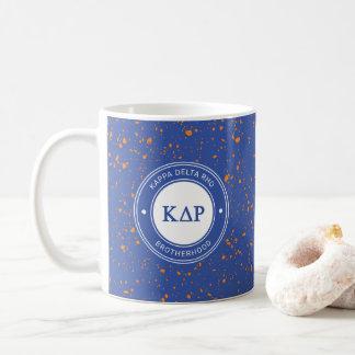 ΚのデルタのRho |のバッジ コーヒーマグカップ
