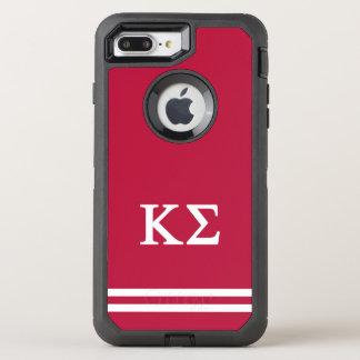 Κシグマ スポーツのストライプ オッターボックスディフェンダーiPhone 8 PLUS/7 PLUSケース