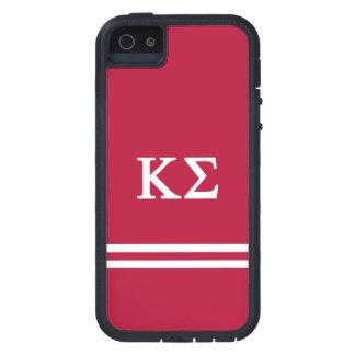 Κシグマ スポーツのストライプ iPhone SE/5/5s ケース
