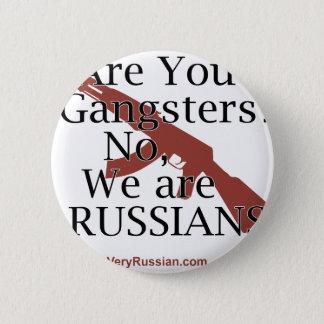 Брат 2ロシアのなギャング 5.7cm 丸型バッジ