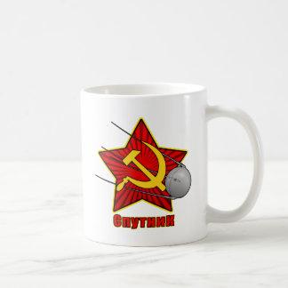 Спутник Sputnikポスター芸術 コーヒーマグカップ