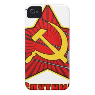 Спутник Sputnikポスター芸術 Case-Mate iPhone 4 ケース