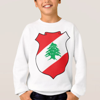 شعارلبنانのレバノンレバノンの紋章の紋章付き外衣 スウェットシャツ