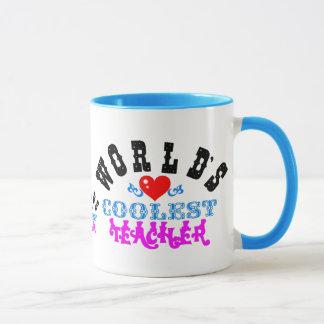"""ღ╬♥の""""世界で最もクールな先生""""の信号器Mug♥╬ღ マグカップ"""