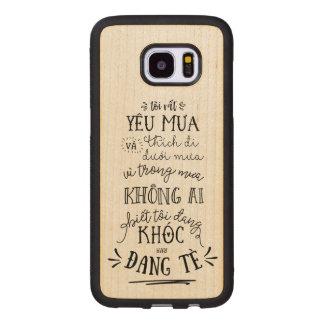 Ốpのlưng Việt Nam ウッド Samsung Galaxy S7 Edge ケース