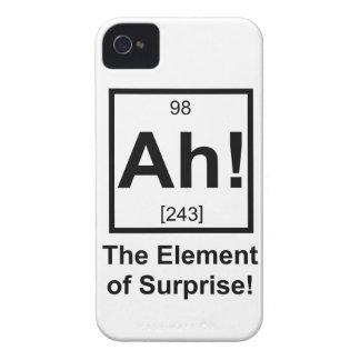 ああ周期的な要素の記号意外性 Case-Mate iPhone 4 ケース