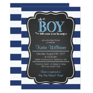ああ小さい人のベビーシャワーの招待状 カード