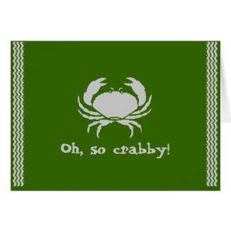 ああ、そうcrabby! カード