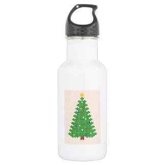 ああ、クリスマスツリー! ビードパターン ウォーターボトル