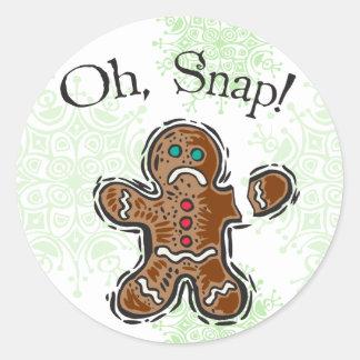 ああ、急なクッキー ラウンドシール
