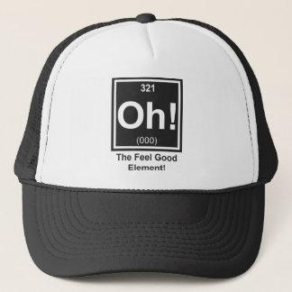 ああ!  爽快な要素のトラック運転手の帽子 キャップ