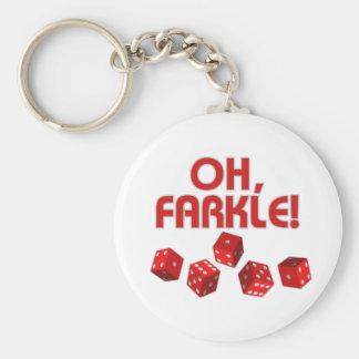 ああ、Farkle! キーホルダー