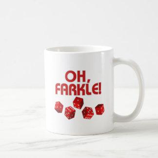 ああ、Farkle! コーヒーマグカップ
