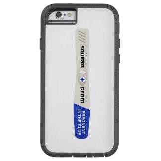 あがきおよび細菌の妊娠検査のiPhone 5の場合 Tough Xtreme iPhone 6 ケース