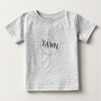 あくび ベビーTシャツ