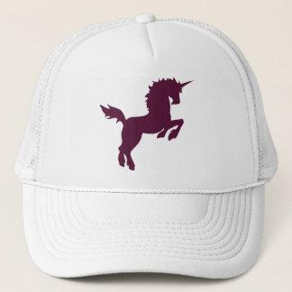 あずき色の帽子の収集できる色のユニコーン キャップ
