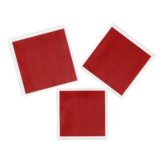 あずき色の赤いタケ木製の穀物の一見 アクリルトレー