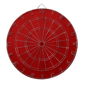 あずき色の赤いタケ木製の穀物の一見 ダーツボード