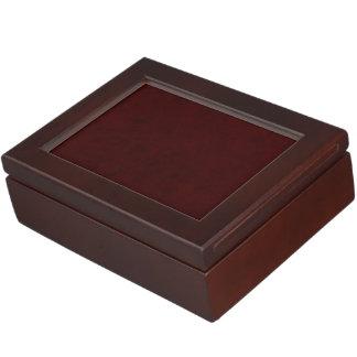 あずき色の赤い色のビロードのカスタムな家のカジノ ジュエリーボックス