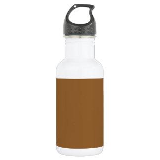 あずき色の(無地のな赤茶色色の) ~ ウォーターボトル