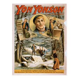 あそこのYonson ポストカード