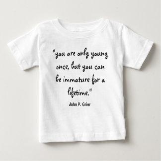 あただ若いonce01 ベビーTシャツ