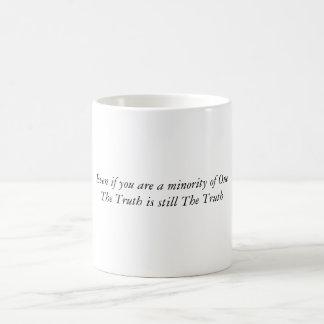 あっても少数のOneTheの真実はs…です コーヒーマグカップ