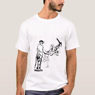 …あって下さい(Breakdancer) Tシャツ