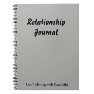 あなたおよびあなたの仲間のための人間関係ジャーナル ノートブック