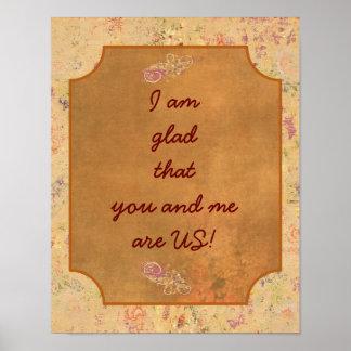 あなたおよび私 --- 芸術のプリント ポスター