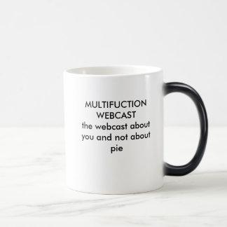 あなたおよびnについてのMULTIFUCTION WEBCASTtheのwebcast… モーフィングマグカップ