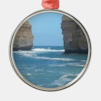 あなたがどこでも取ることができる美しいオーストラリアの景色 メタルオーナメント