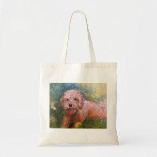 あなたが個人化するGoldendoodle/Labradoodleのバッグ トートバッグ