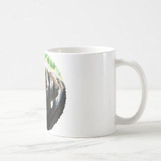 あなたが個人化できる古く黒いラブラドールの写真のギフト コーヒーマグカップ