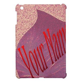 あなたが名前なしでまた得ることができる名前の赤いハート iPad MINIケース