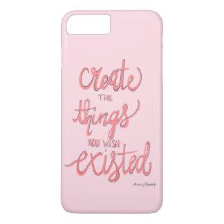 あなたが存在していて望む事を作成して下さい iPhone 8 PLUS/7 PLUSケース