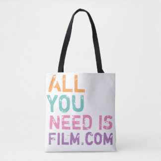 あなたが必要とするのはフィルム.COMの色だけです トートバッグ