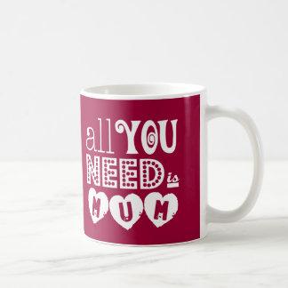 あなたが必要とするのはミイラだけです コーヒーマグカップ