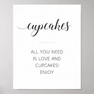 あなたが必要とするのは愛およびカップケーキ- Alejandraだけです ポスター