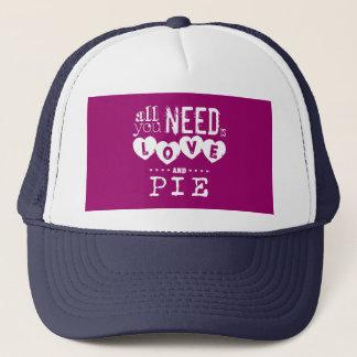 あなたが必要とするのは愛およびパイだけです キャップ